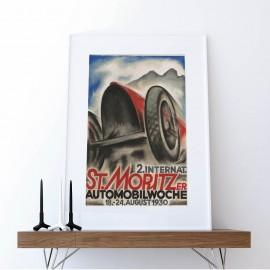Foto 2. internationale St. Moritzer Automobilwoche 1930