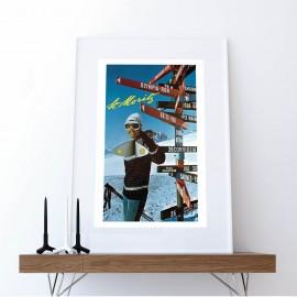 Foto Skifahrer