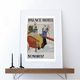 Poster Palace Hotel St. Moritz