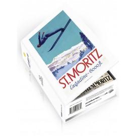Postcard box St. Moritz